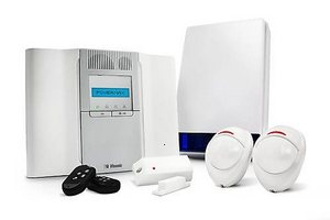 visonic  wireless system  with pet safe sensors as standard